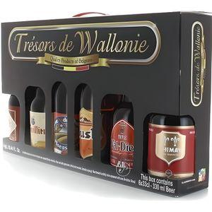 BIÈRE Coffret Trésors de Wallonie - 6 savoureuses bières