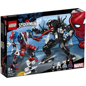 ASSEMBLAGE CONSTRUCTION LEGO® Marvel Spider-Man 76115 Le robot de Spider-M