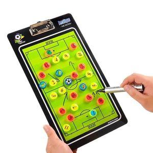 TABLEAU DE COACHING JEC Football Tableau Tactique Coach Magnétique Str