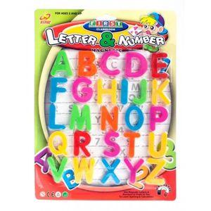 PLAQUE DE PORTE 26 lettre magnétique aimant enfant ecole alphabet