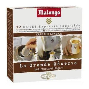 CAFÉ Malongo, Café grandes réserves, 12 doses