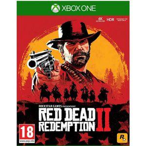 JEU XBOX ONE Red Dead Redemption 2 Jeu Xbox One + 1 Porte Clé