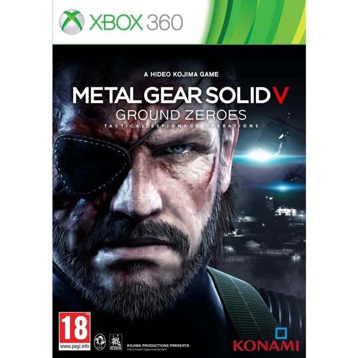 JEUX XBOX 360 Metal Gear Solid V Ground Zeroes Jeu XBOX 360