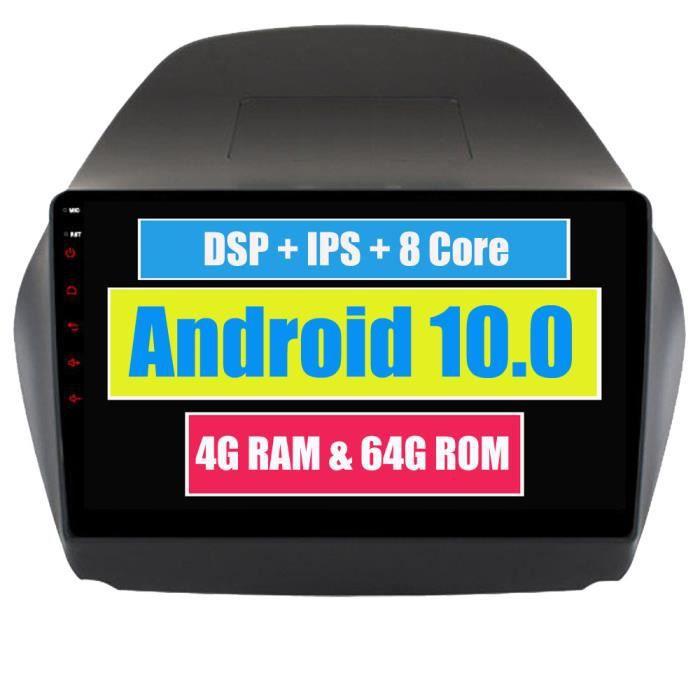 RoverOne Autoradio Stéréo GPS Navigation pour Hyundai Tucson IX35 2009 - 2015 Android Radio Bluetooth DSP Écran Tactile