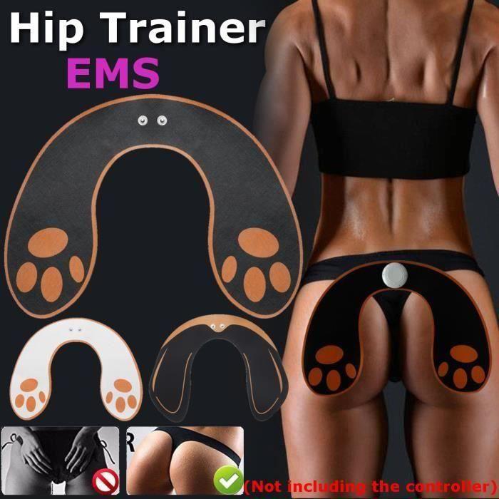 EMS Appareil de Musculation Fitness Entraînement hanche Fesse Levage noir orange Aw57085