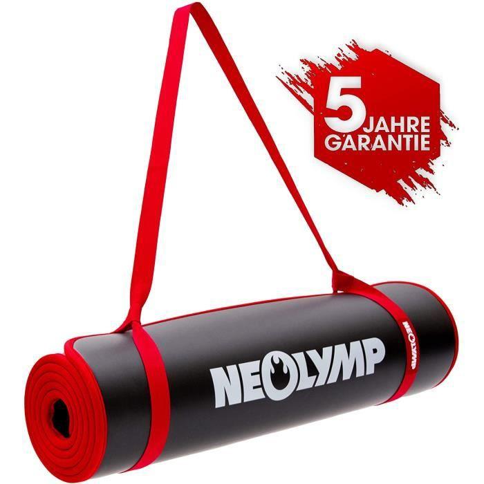 NEOLYMP Premium Tapis DE Fitness/Tapis DE Sport pour Le Sport Professionnel + 5 Ans DE Garantie, Tapis DE Gymnastique, Tapis DE Yoga