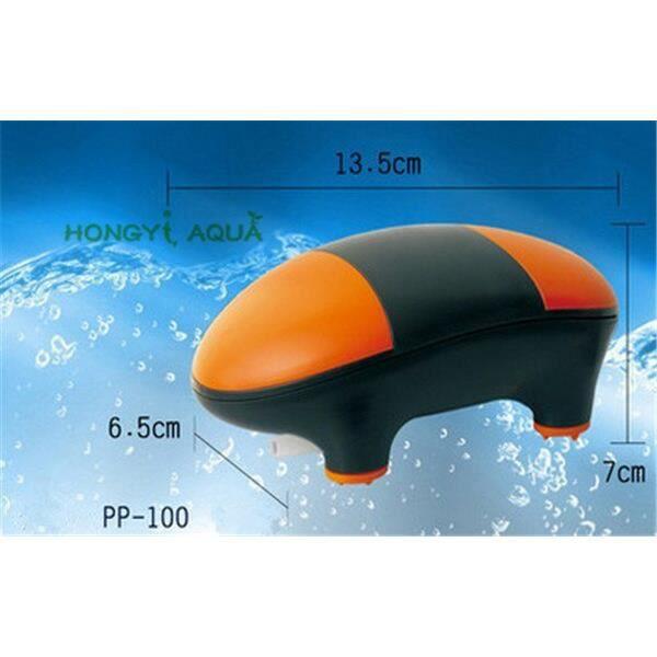 Aquarium,Atman pompe à oxygène pour aquarium 1 pièce aérateur,pompe à air ultra silencieuse,aquarium,pompe à - Type PP 100 - S
