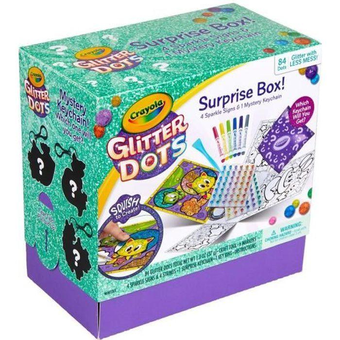 CRAYOLA Glitter Dots Suprise Box