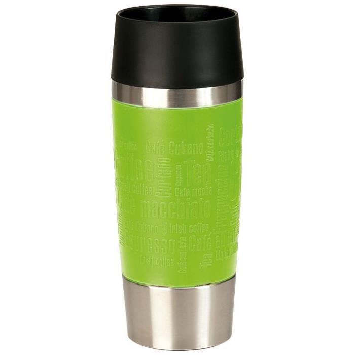 EMSA Mug isotherme inox & lime Travel Mug - 0.36L