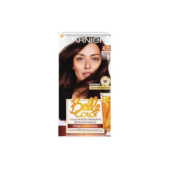 Garnier Coloration permanente - 4.15 Marron glacé naturel