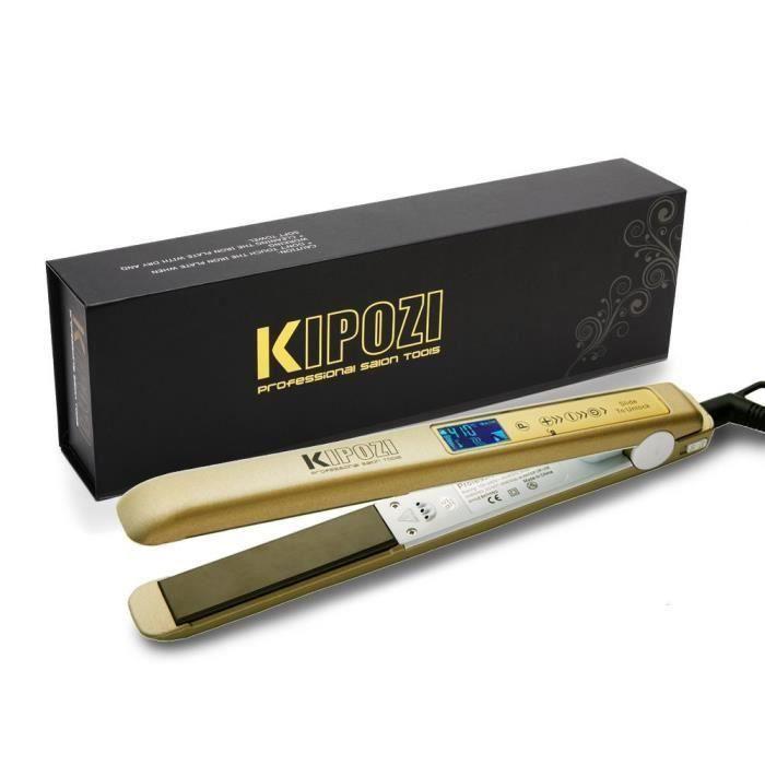KIPOZI Lisseur Cheveux Professionnel Fer à Lisser