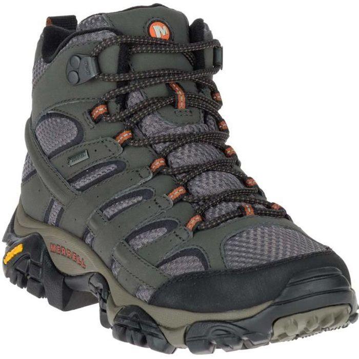 Chaussures femme Randonnée Merrell Moab 2 Mid Goretex