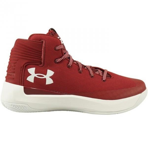 Chaussures de Basketball Under Armour SC 3Zero rouge Pour Juniors