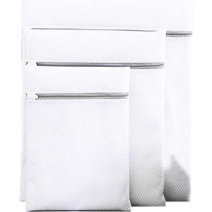 NOVAGO Lot de 3 Filets de lavage (Sac de Lavage) spécialement conçus pour le linge sensible et de qualité ( Taille L , M , S )