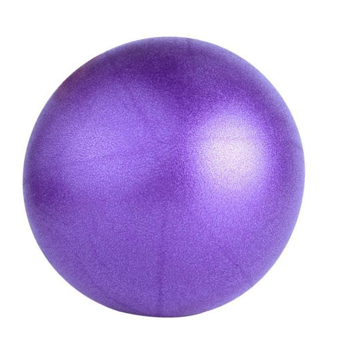 Mini Ballon de Gymnastique 25 cm Balle de Exercice pour Fitness Gym Yoga Pilâtes - Stabilité Anti-Explosion Convient
