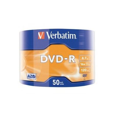 VERBATIM Spindle de 50 DVD-R 4,7 Go 16x - surfa…