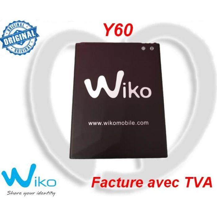 Batterie Interne WIKO Y60 Neuve et 100% Original-TactilEst