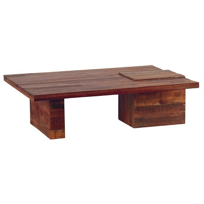 Table basse recycl e samoa meuble house achat vente table bas - C discount table basse ...