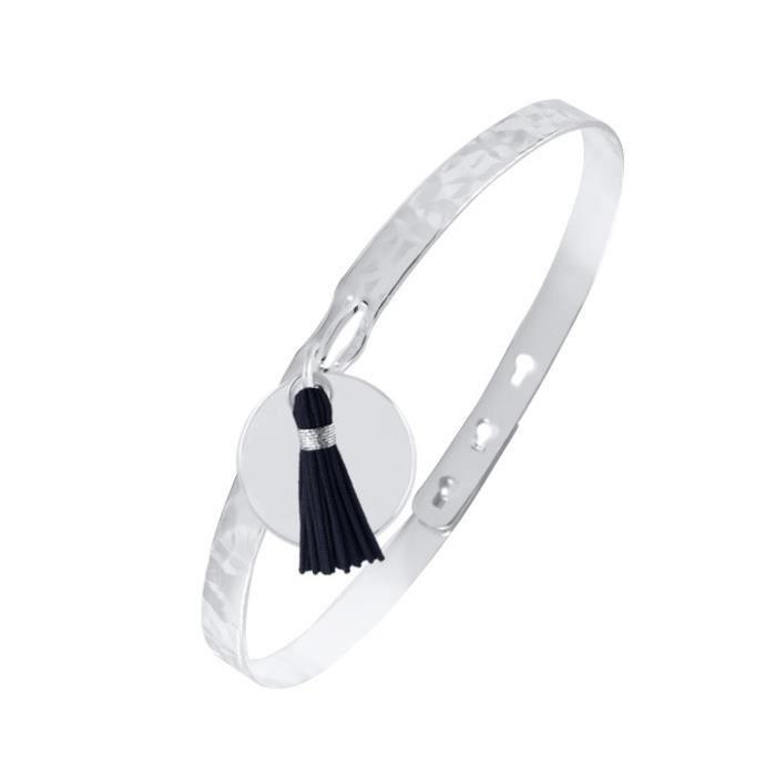 bracelet femme bleu marine