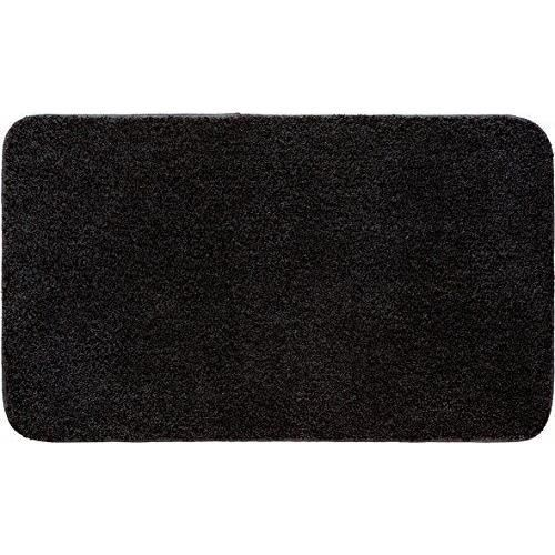 grund melos tapis de bain noir anthracite 60 x 50 cm achat vente tapis de bain cdiscount. Black Bedroom Furniture Sets. Home Design Ideas