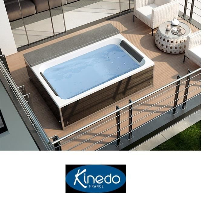 Magic spa kinedo 2 places fabrication francaise haut de - Prix jacuzzi places ...