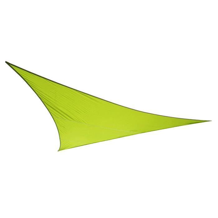 kookaburra voile d 39 ombrage imperm able 6 0m 4 2m triangle rectangle vert citron achat. Black Bedroom Furniture Sets. Home Design Ideas