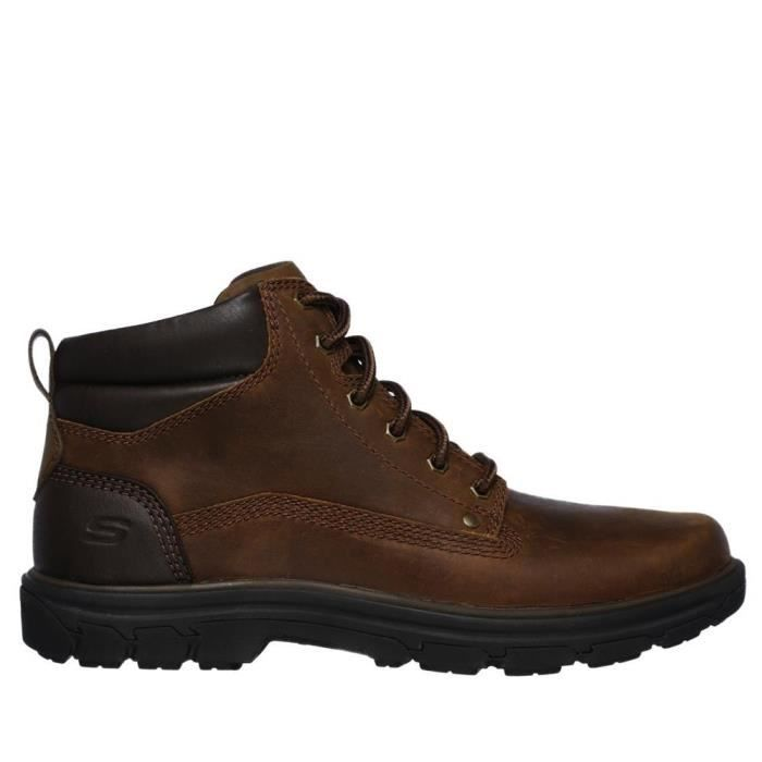 boots Homme SEGMENT bottine RELAXED SKECHERS GARN Brun 6IYbgf7yv