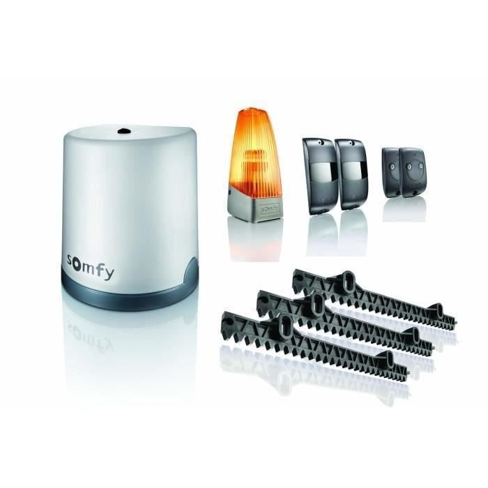 somfy kit de motorisation de portail coulissant 5mx300kg freevia 300 achat vente. Black Bedroom Furniture Sets. Home Design Ideas