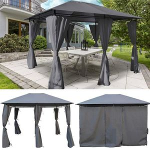Tonnelle retractable achat vente tonnelle retractable for Tonnelle de jardin 3x3 gris