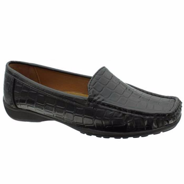Hazel-7 Flexsole Casual Slip On Mocassins T4HR5 Taille-38 1-2