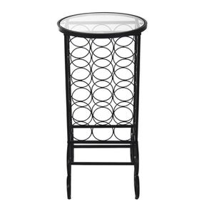 etagere verre trempe noir achat vente etagere verre trempe noir pas cher cdiscount. Black Bedroom Furniture Sets. Home Design Ideas