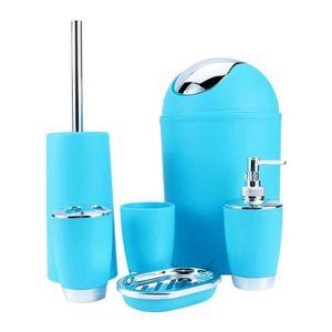SET ACCESSOIRES 6pcs accessoires de salle de bain comprend distrib