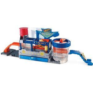 UNIVERS MINIATURE HOT WHEELS - City - Station de Lavage - 4 ans et +