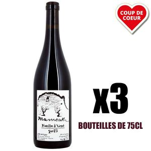 VIN ROUGE X3 Mammouth Rouge 2015 75 cl Domaine Balagny Julie