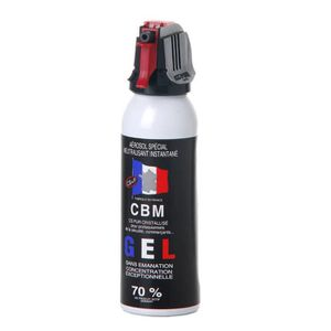 BATON - BOKEN Bombe lacrymogène anti-agression Gaz CS 100 ml