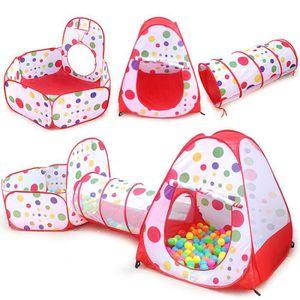 PISCINE À BALLES Tente tunnel d'activité Tente enfant à balles (pas