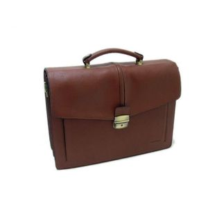 CARTABLE CARTABLE PORTE DOCUMENT CUIR MARRON LANCHAS