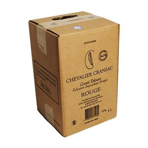VIN ROUGE Bag-in-Box 5L Chevalier Cransac Rouge VDP Comté To
