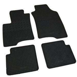 Caoutchouc Tapis caoutchouc Tapis de sol 4 pièces pour FIAT PANDA pour Année de construction 2012-Aujourd/'hui