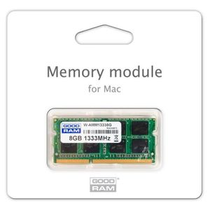 MÉMOIRE RAM 8 Go Apple MAC Memory Module DDR3 1333 MHz 10600 p