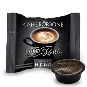CAFÉ Caffè Borbone - Don Carlo Mélange Noir 50 pièces C