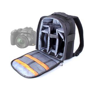 SAC PHOTO Sac à dos noir pour Panasonic FZ150, FZ45, FZ200