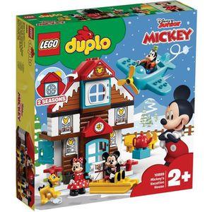 ASSEMBLAGE CONSTRUCTION LEGO® DUPLO® Disney™ 10889 La maison de vacances d