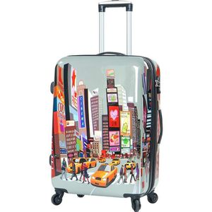 VALISE - BAGAGE MADISSON - Valise 75 cm Snowball New York - (Gris)