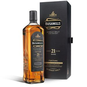 WHISKY BOURBON SCOTCH Bushmills Malt 21 ans (70cl)