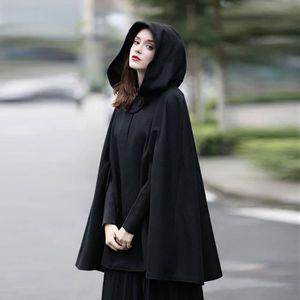 cherche cape femme)