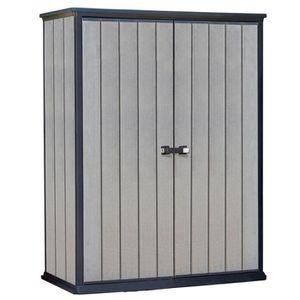 ABRI JARDIN - CHALET Abri de stockage High-Store Gris 226437