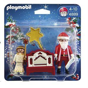 UNIVERS MINIATURE PLAYMOBIL 4889 Père Noël et Petit Ange
