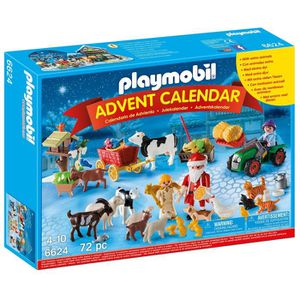 UNIVERS MINIATURE Playmobil - 6624 - Calendrier de l'Avent ''Père No