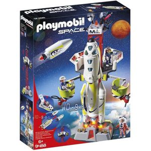 UNIVERS MINIATURE PLAYMOBIL 9488 - Space - Fusée mission sur Mars av